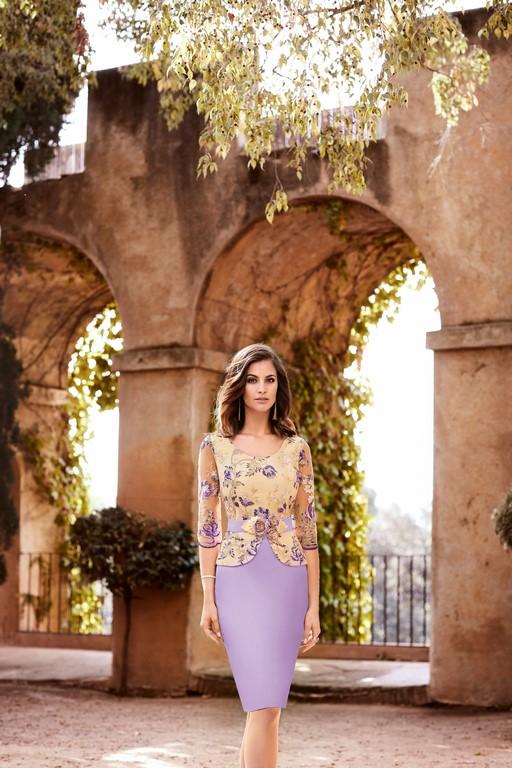 Vestido corto de Nati Jimenez